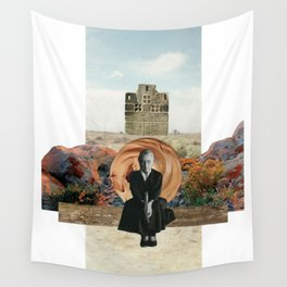 Georgia in the Desert Wall Tapestry
