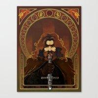 gryffindor Canvas Prints featuring Gryffindor by luvami