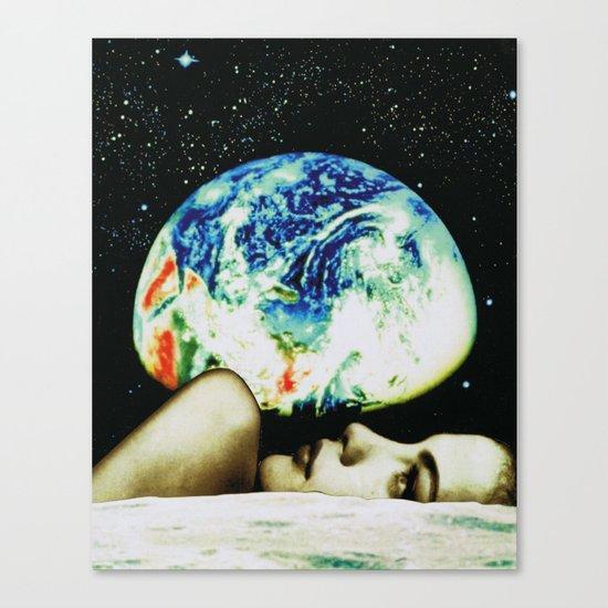moon view Canvas Print