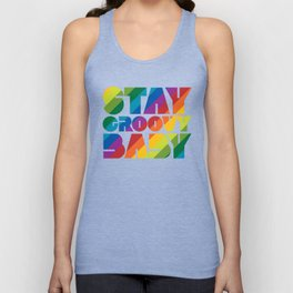 Stay Groovy Baby Unisex Tank Top