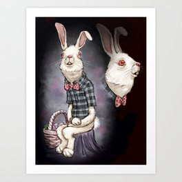 Awkward Easter Art Print