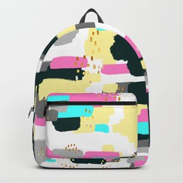 Abstract Doodle Painting Backpack