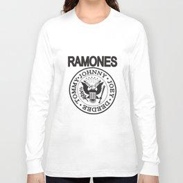 The Ramones T-Shirt Punk Rock Raglan Baseball Tee Adult Softball T-Shirts Long Sleeve T-shirt