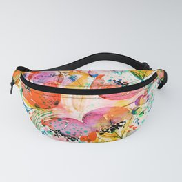 flowered Fanny Pack