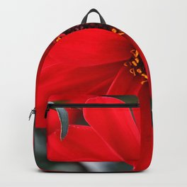 Red Red Dahlia Backpack