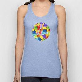 Candy Rainbow Geometric Unisex Tank Top