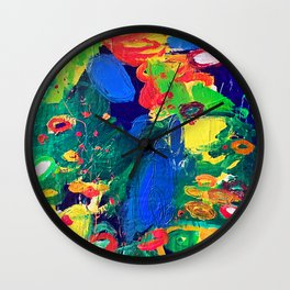 Japanese Gardens Wall Clock