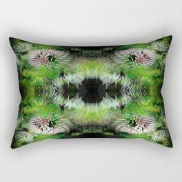 Flowers Fractal Pattern Rectangular Pillow