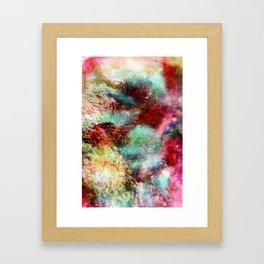 Passionate Flowers Framed Art Print