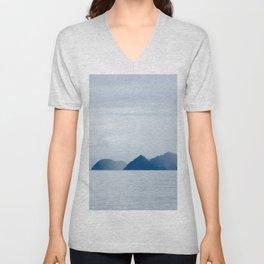 Mountains in the Mist Unisex V-Neck