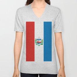 flag of Alagoas Unisex V-Neck