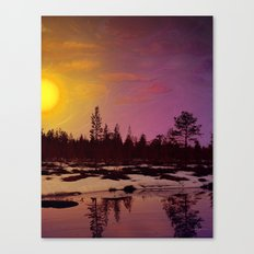 Day - From Day And Night Painting Canvas Print