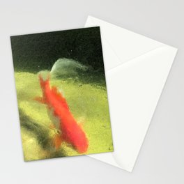 Life under the Ice (Watercolors version) Stationery Cards