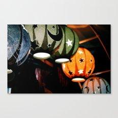 Paper lamps Canvas Print