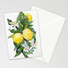 lemon tee Stationery Cards