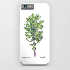 Red Russian Kale Slim Case iPhone 6s