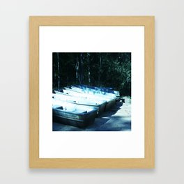 Gone Fishin' Framed Art Print