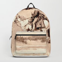 Burgess Finding a Ford Backpack