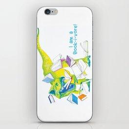 I am a Book-i-vore! iPhone Skin