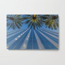 Fashion Island Palms Metal Print