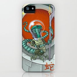 Astro Zodiac Force 06: Snake iPhone Case