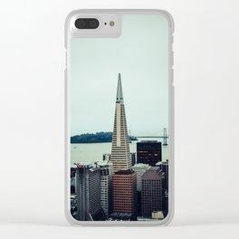 Transamerica Clear iPhone Case