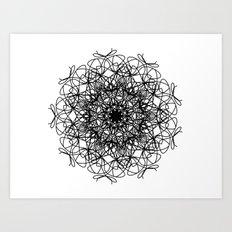 mandala - muse 4 Art Print