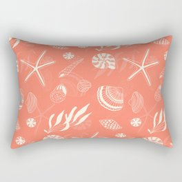 Sea shells patten Rectangular Pillow