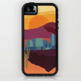 City Series - #Phoenix #Arizona #Travel #Poster iPhone Case