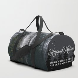 Into the forest we go Duffle Bag