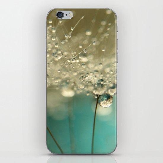 Smokey Blue iPhone Skin