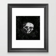 Death Shuffle Framed Art Print