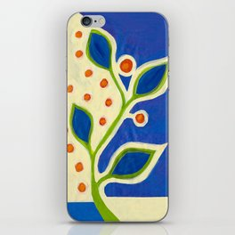 blue vine ... iPhone Skin