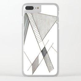 L I N E Clear iPhone Case