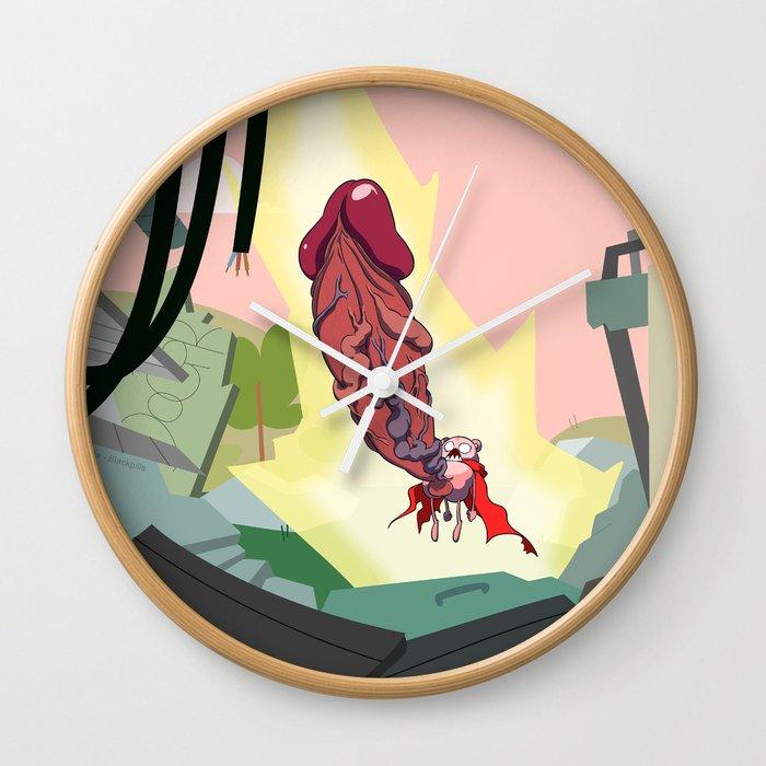 Peepoodong 3 Wall Clock