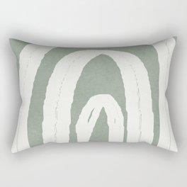 Abstract Arches Rectangular Pillow
