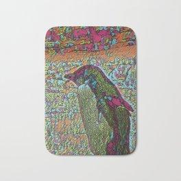 Abstract Penguin Bath Mat