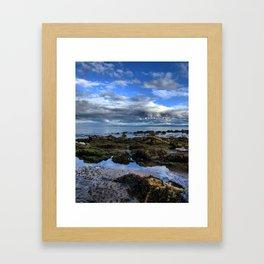 Black Isle beach Framed Art Print