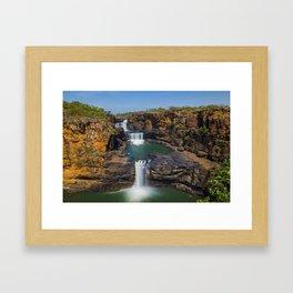 Mitchell Falls 2 Framed Art Print