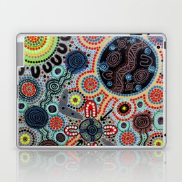 Yindyamarra - Respect the Process Laptop & iPad Skin