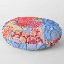 Ornamental Starfish Floor Pillow