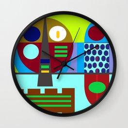 Kraut pop Wall Clock