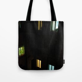 Live at night Tote Bag