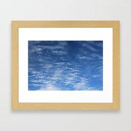 Cloudy Sky / Cielo nublado Framed Art Print