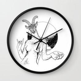 She-goat Wall Clock