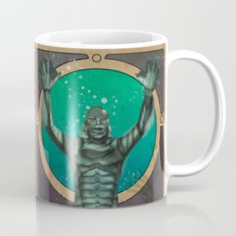 Creature From the Black Lagoon Nouveau Coffee Mug