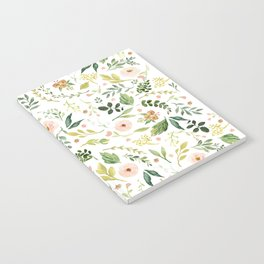 Botanical Spring Flowers Notebook