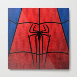 spider man logo Metal Print