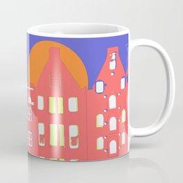 Riding home in Amsterdam Coffee Mug