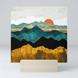 Turquoise Vista Mini Art Print